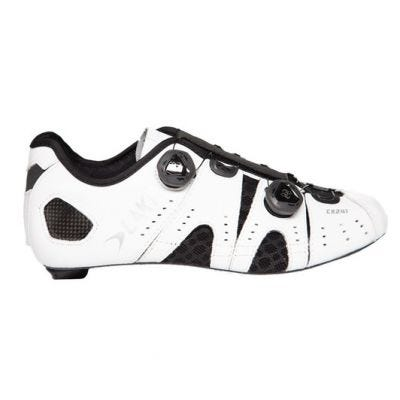 Lake CX241 CFC Road Shoes White Wide Fit