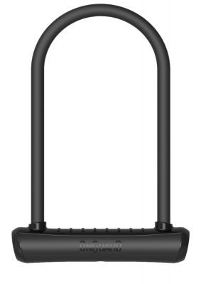 OnGuard Neon U-Lock Black 115 x 292 x 13mm