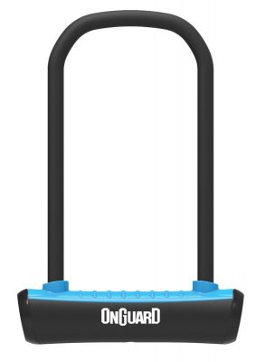 OnGuard Neon U-Lock Blue 115 x 292 x 13mm