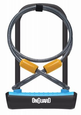 OnGuard Neon U-Lock/Cable 115 x 230 x 230mm