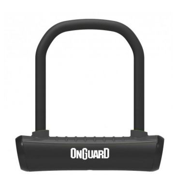OnGuard Neon Black U-Lock 90 x 140 x 13mm