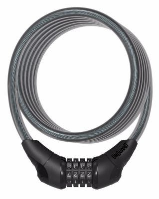OnGuard Neon Combo Cable Lock Black 1800 x 12mm