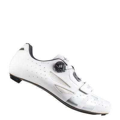 Lake CX218 Carbon Road Shoe White/Silver