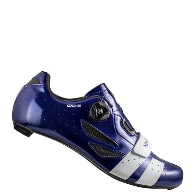 Lake CX218 Carbon Road Shoe Blue/White