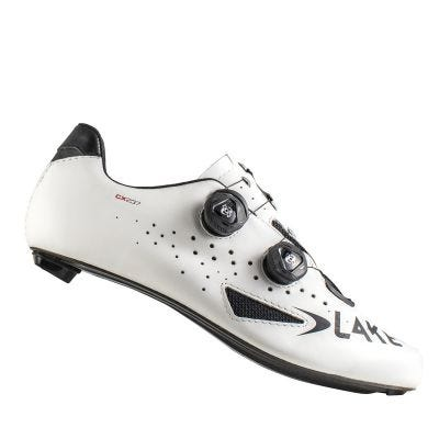 Lake CX237 CF Carbon Road Shoe White
