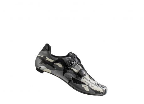 Lake CX237 Carbon Road Shoe Silver Camo