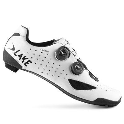 Lake CX238 Carbon Road Shoe White