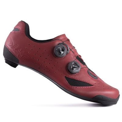 Lake CX238 Carbon Road Shoe Burgundy