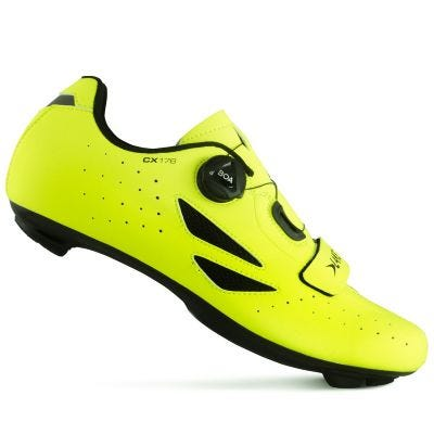 Lake CX176 Road Shoe Hi Viz Yellow