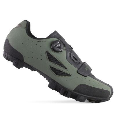 Lake MX176 MTB Shoe Wide Fit Beetle Black