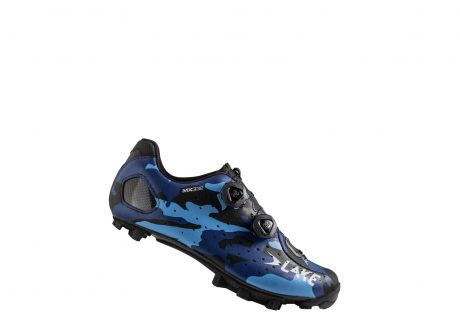 Lake MX332 Supercross Shoe Urban Blue