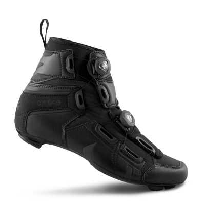 Lake CX145 Road Boot Black Wide Fit