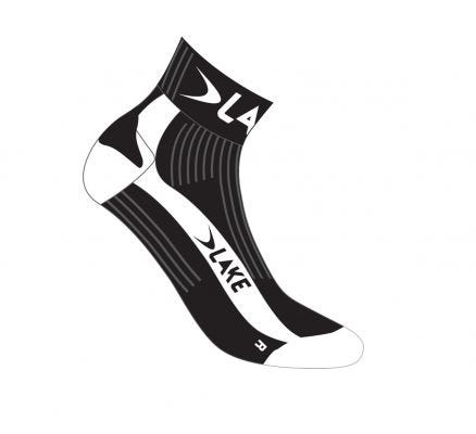 Lake Bioceramic Socks Black/White