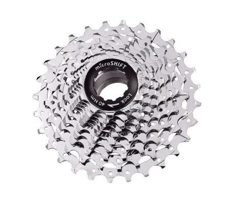 Microshift CS-G110 Cassette 10 Speed Alloy/Steel