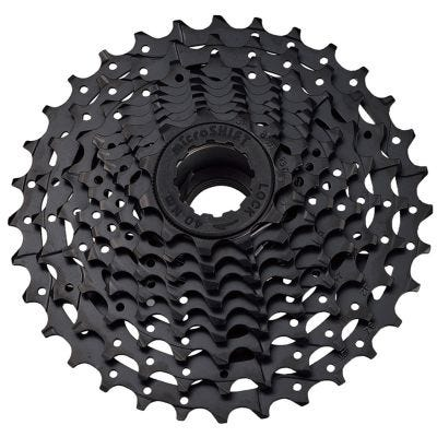 MicroShift CS-H081 Cassette 8 Speed Steel Black