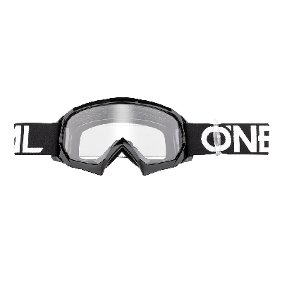 O'Neal b-10 Youth Goggle Solid Black/White