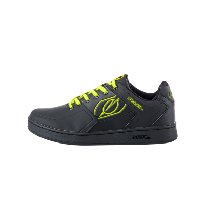 O'Neal Pinned Shoe Black/Neon Yellow