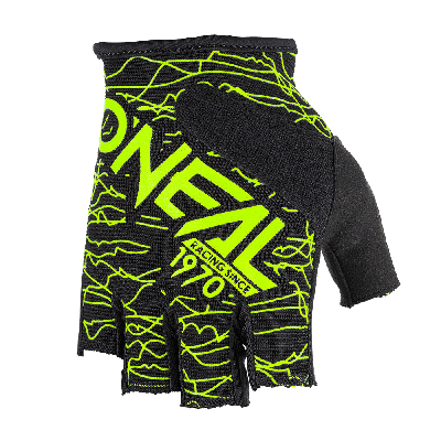 O'Neal Wired Fingerless Gloves Black/Yellow