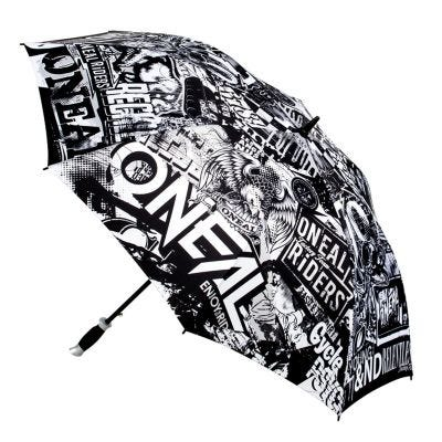 O Neal Moto Attack Umbrella Black White