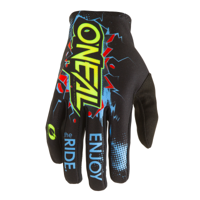 O'Neal Matrix Youth Glove Villain Black