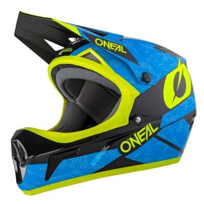 SONUS Helmet DEFT blue/neon yellow XL (61/62 cm)