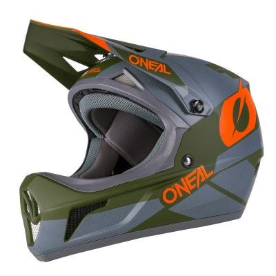 SONUS Helmet DEFT grey/olive/orange XL (61/62 cm)