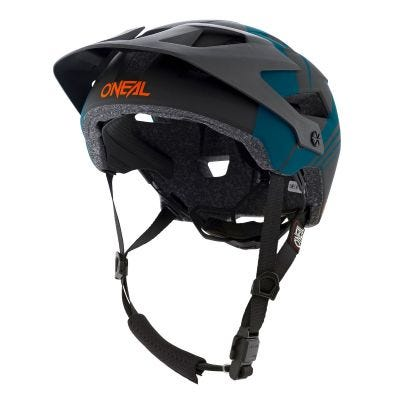 O'Neal Defender NOVA MTB Helmet Petrol/Orange