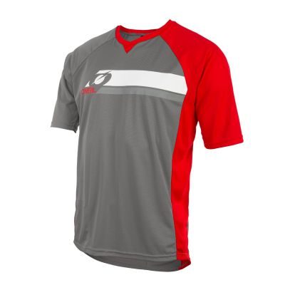 PIN IT Jersey grey/red XXL