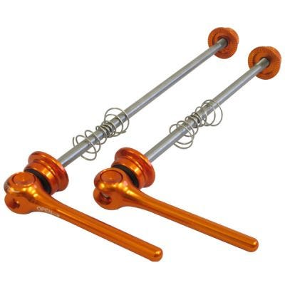 ETC QR MTB Titanium Skewer Set Orange