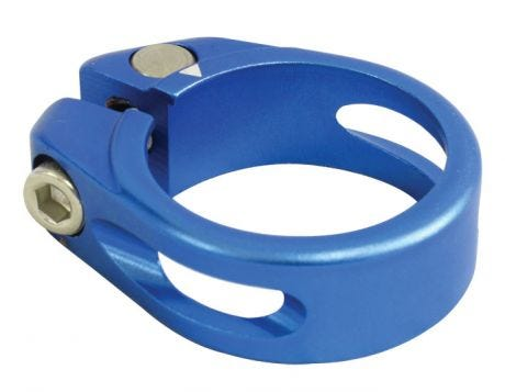 One23 Alloy Seat Clamp 34.9mm Blue