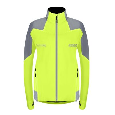 Proviz Nightrider New Jacket Ladies Waterproof Yellow