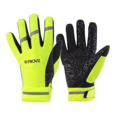 Proviz Glove Yellow Reflective Waterproof