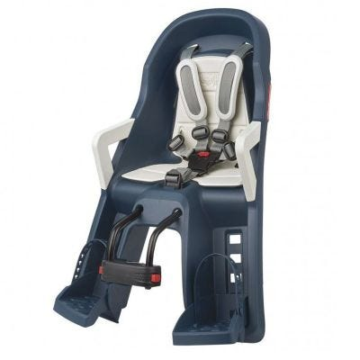 Polisport Guppy Mini Childseat Front Jean Blue/Cream