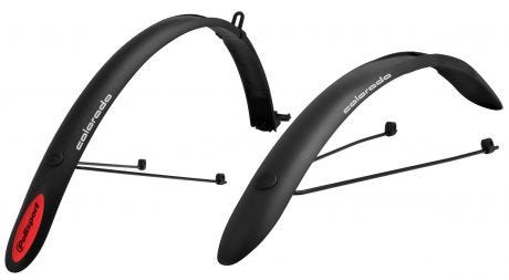Polisport Colorado Mudguards Clip On 700c Black