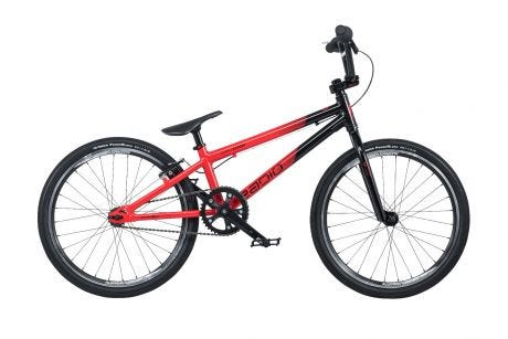 "Radio Cobalt Expert BMX Bike 20"" Black / Red (19.5"" TT)"