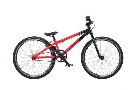"Radio Cobalt Mini BMX Bike 20"" Black / Red (17.5"" TT)"
