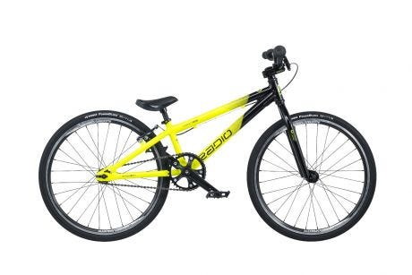 "Radio Cobalt Mini BMX Bike 20"" Black / Neon Yellow (17.5"" TT)"