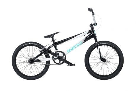 "Radio Xenon Pro BMX Bike 20"" Black / White (20.75"" TT)"
