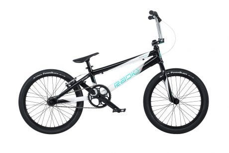 "Radio Xenon Pro XL BMX Bike 20"" Black / White (21.25"" TT)"