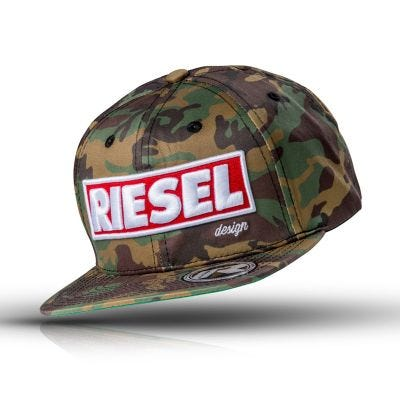 Rie:sel The Crown Snapback Camo Baseball Cap