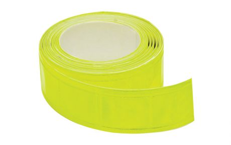 ETC Reflective Tape 25mm x 2M Yellow