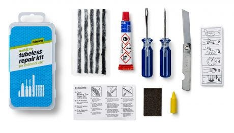 Weldtite Puncture Repair Kit Tubeless Tyres