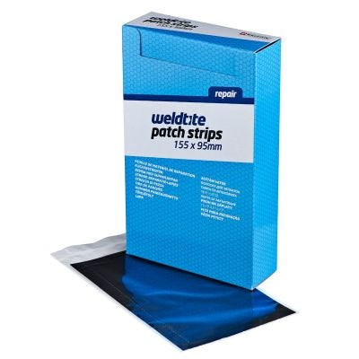 Weldtite Puncture Repair Patch Strip 155 x 95mm (x25)