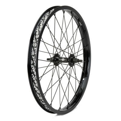 Salt Rookie Front Wheel 28H Black 18""