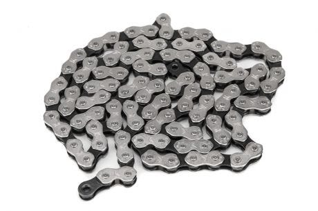 "Salt Cool Chain Black/Silver 1/2"" x 1 1/8"""