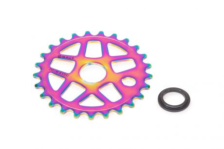Salt Gateway Sprocket 25T Steel Oil Slick