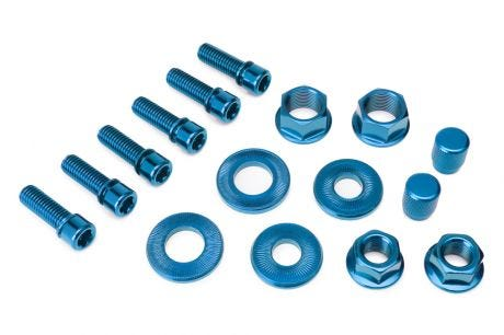 Salt Hardware Bolt Set Blue