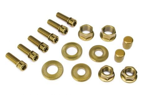 Salt Hardware Bolt Set Gold