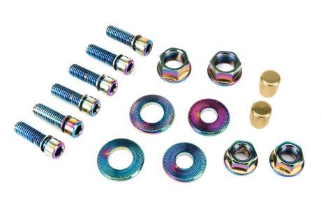 Salt Hardware Bolt Set Oil slick