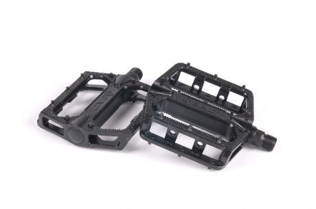 Salt Slim Alloy Pedal Black 1/2""